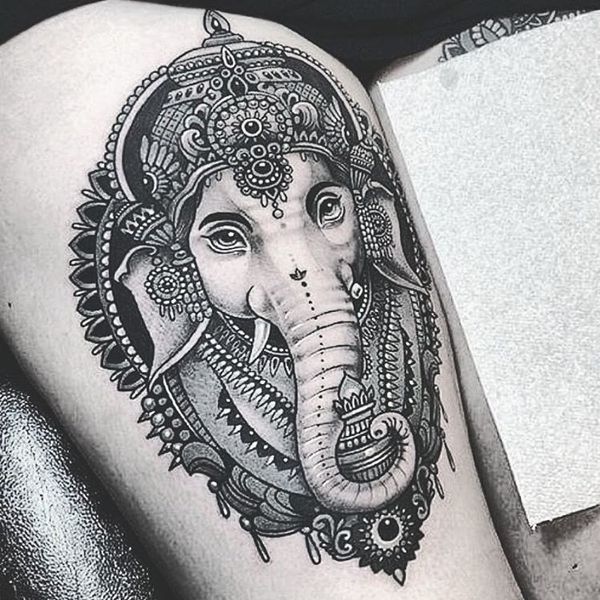 Best Elephant Tattoo Designs And Ideas 9