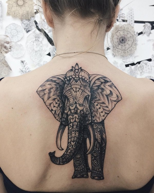 35 best elephant tattoo designs and ideas tattoos era for Elephant tattoo meaning family