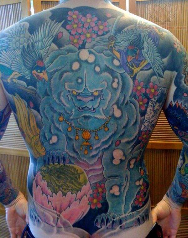 Breathtaking Foo Dog Tattoos for Inspiration 13
