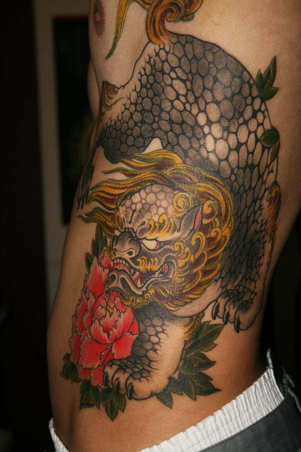 Breathtaking Foo Dog Tattoos for Inspiration 4