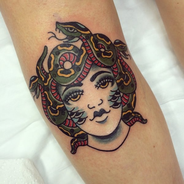 Extraordinary Medusa Tattoo Designs 19