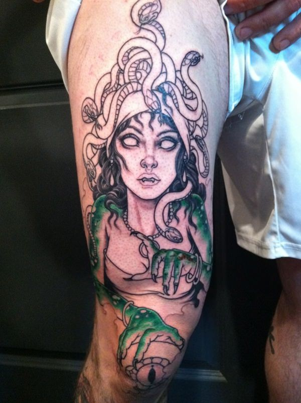 Extraordinary Medusa Tattoo Designs 2