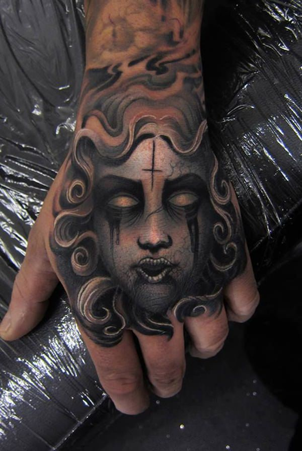 Extraordinary Medusa Tattoo Designs 26