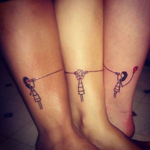 60 sister tattoos for special bonding design and ideas for Funny sister tattoos