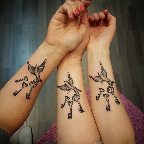 60+ Sister Tattoos for Special Bonding Design and Ideas ...