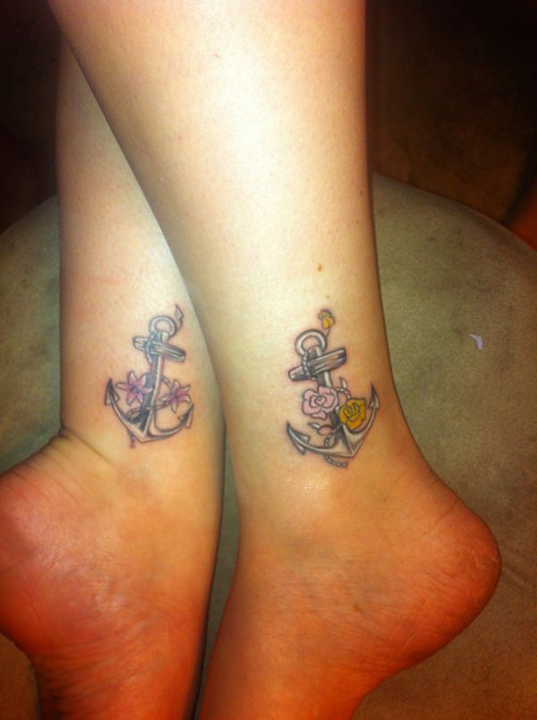 Sister Tattoos for Special Bonding Design and Ideas