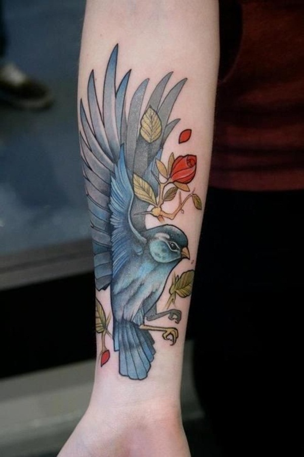 Creative and Fashionable Bird Tattoos for Men and Women