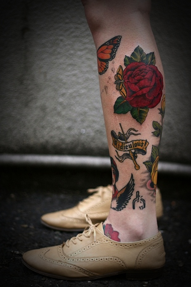 Leg Tattoos Designs and Ideas for Women