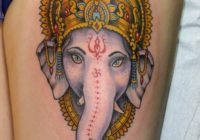 Lord Ganesha Tattoo Designs and Ideas