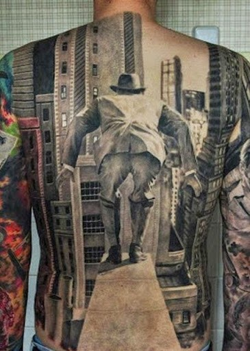 Craziest & Best 3D Tattoos Designs and Ideas