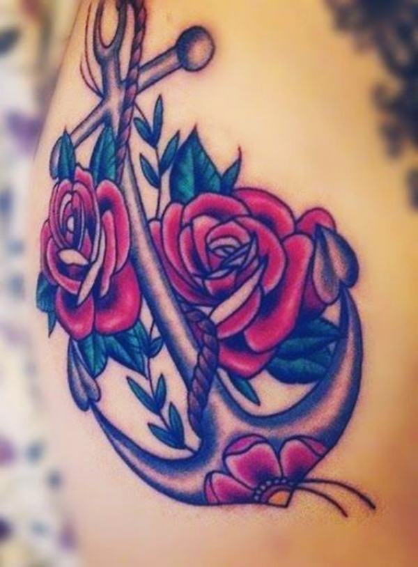 Gorgeous Rose Tattoos Designs and Ideas For Women