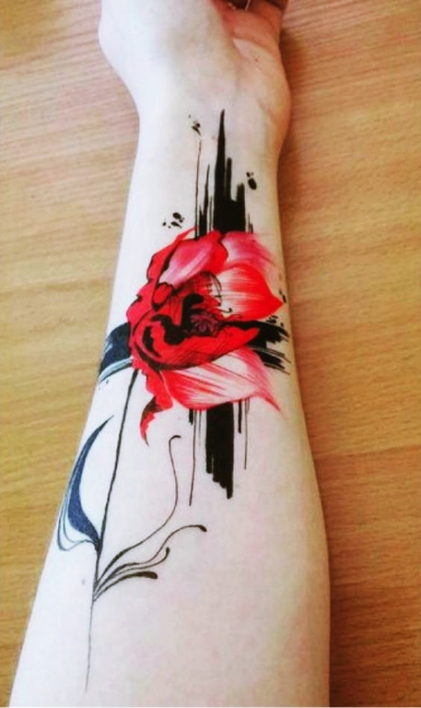 Unique and Strong Forearm Tattoos For Men