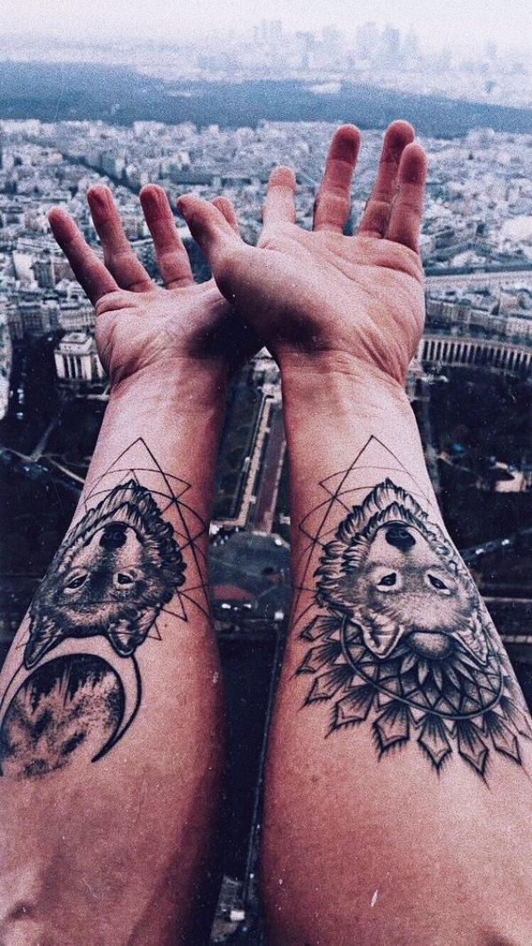 Unique and Strong Forearm Tattoos For Men - TattoosEra