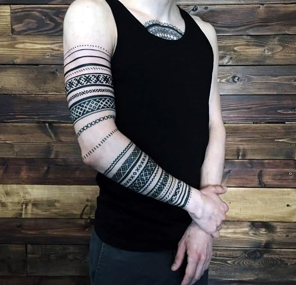 Masculine Armband Tattoos Designs for Men