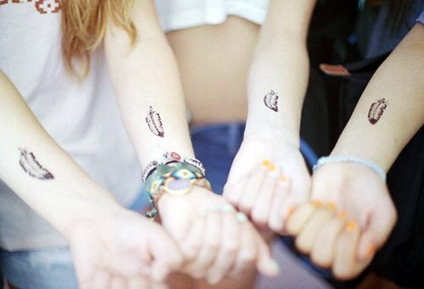 Unique Best Friend Tattoos That Redefine Your Friendship