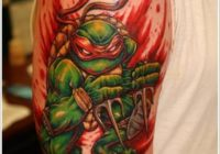Ninja Turtle Tattoos Designs and Ideas