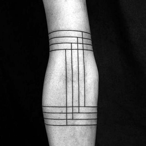 No-Ordinary Line Tattoo Designs and Ideas
