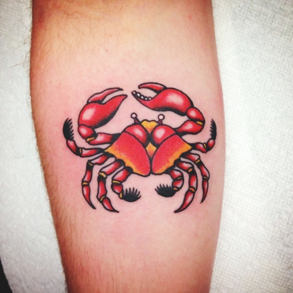 Cancer Zodiac Tattoos Designs and ideas