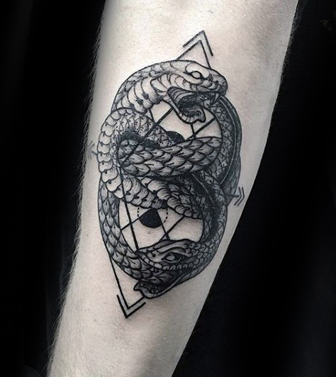 Beautiful Ouroboros Tattoos Designs and Ideas