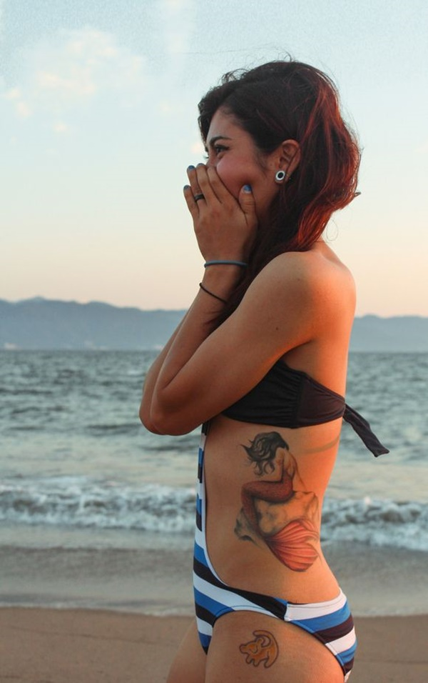 Mermaid Tattoo Designs And Ideas For Girls