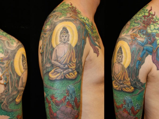 Buddha Tattoo Designs 10