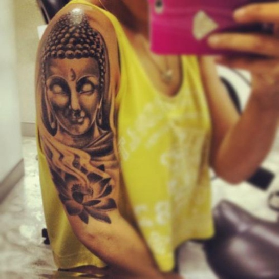 Buddha Tattoo Designs 14