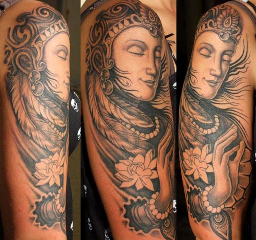 Buddha Tattoo Designs 2