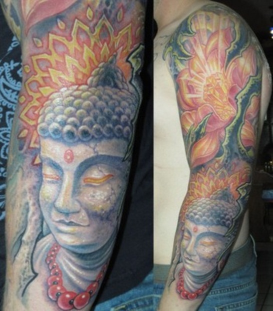 Buddha Tattoo Designs 23