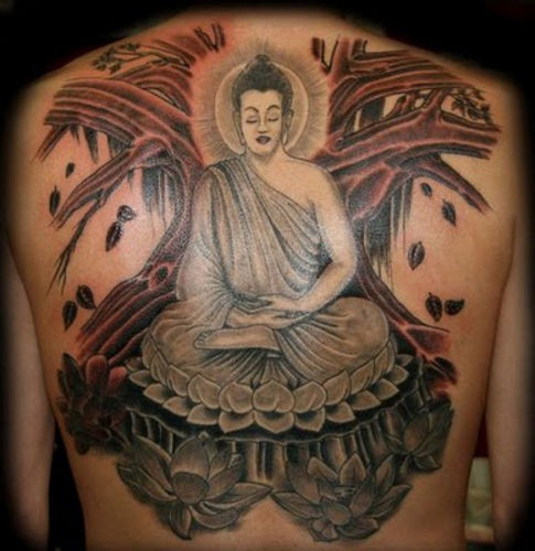 Buddha Tattoo Designs 26