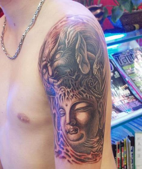Buddha Tattoo Designs 28