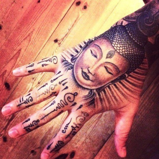Buddha Tattoo Designs 35