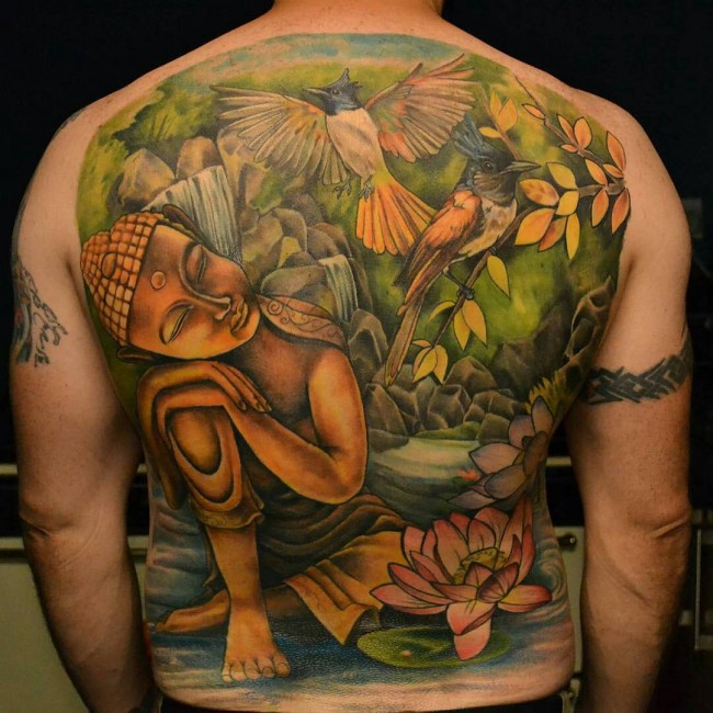Buddha Tattoo Designs 43
