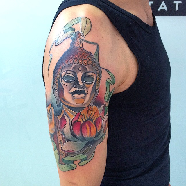 Buddha Tattoo Designs 44
