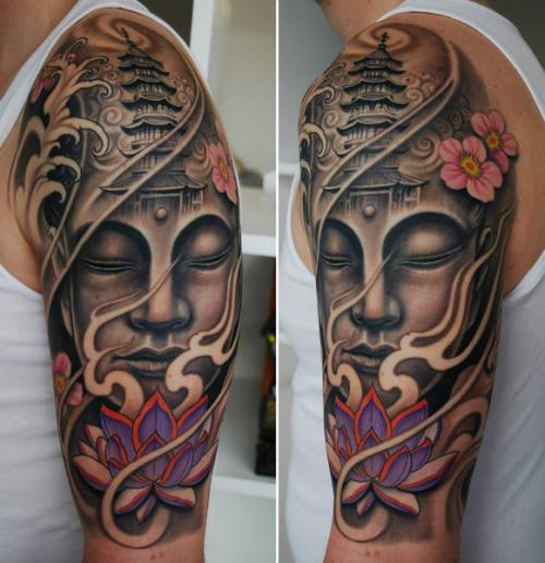 Buddha Tattoo Designs 9
