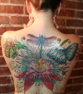 Butterfly-With-Lily-Petal-Wings