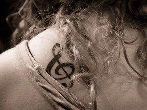 Butterfly-with-Treble-Clef-Lace-Design