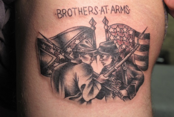Civil War Tattoo