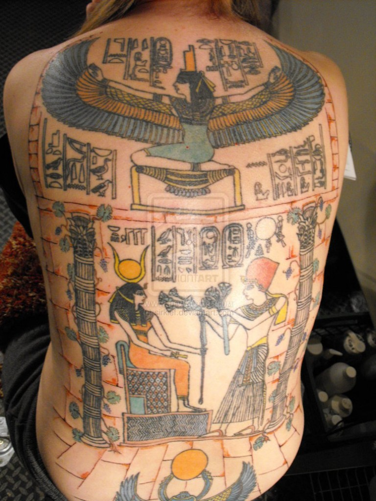 Egyptian Tattoos 46