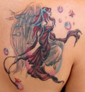 Fairy Butterfly Tattoos