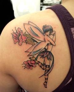 Fiery-Butterfly-Tattoo 2