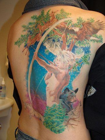 Mythological Tattoo Designs 19