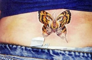 Tiger-Butterfly-Design