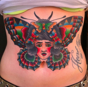 Traditional-Butterfly-Tattoo