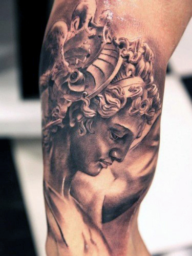 greek-god-of-war-tattoo-on-man