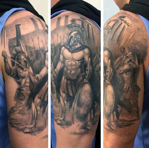 greek-mythology-tattoo-for-men-half-sleeve