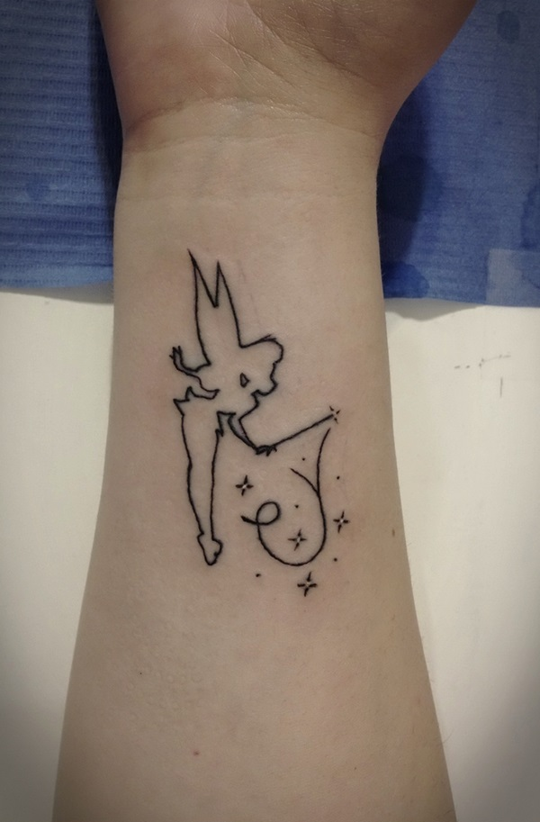 Adorable Fairy Tattoo Designs 5