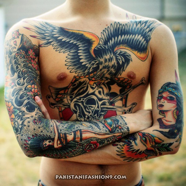 40 Chest Tattoo Ideas For Men