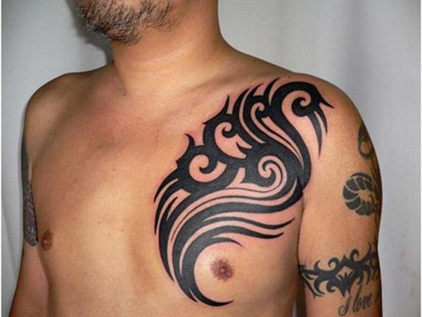 Chest Tattoo 11