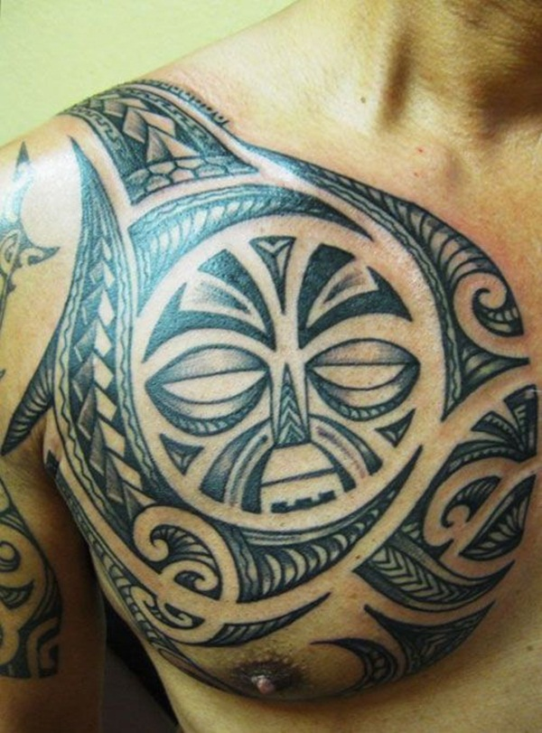 Chest Tattoo 15