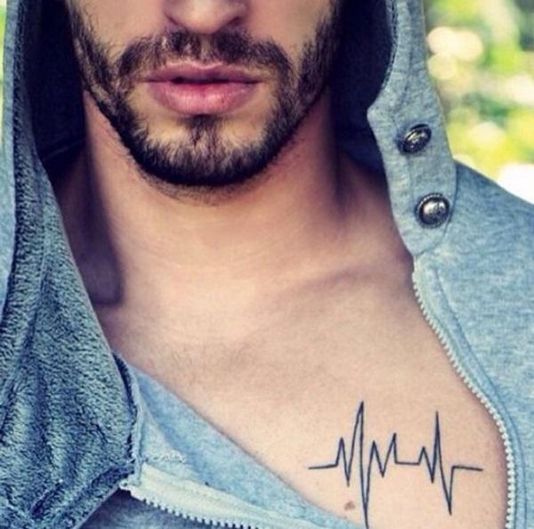 Chest Tattoo 25